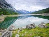 Jezero Medicine v národním parku Jasper