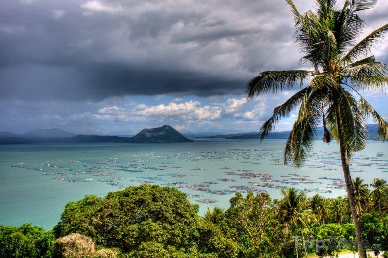 Fotka, Foto Jezero Taal (Filipíny)