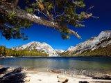 Jezero Tenaya v Yosemitském národním parku