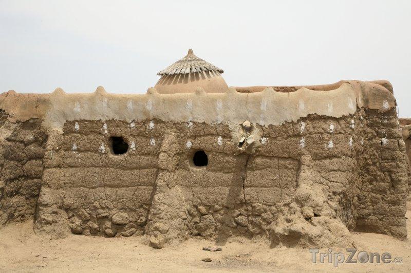 Fotka, Foto Kamenné obydlí (Ghana)