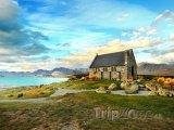 Kostel u jezera Tekapo