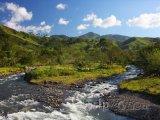 Krajina u města Monteverde