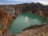 Kráter vulkánu Kelimutu na ostrově Flores