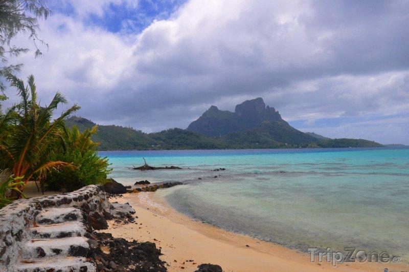 Fotka, Foto Laguna na Tahiti (Francouzská Polynésie)