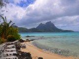 Laguna na Tahiti