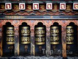 Mantra na modlitebním mlýnku
