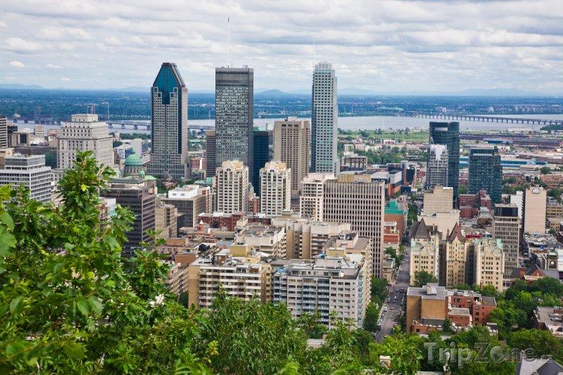 Fotka, Foto Montreal panorama (Kanada)