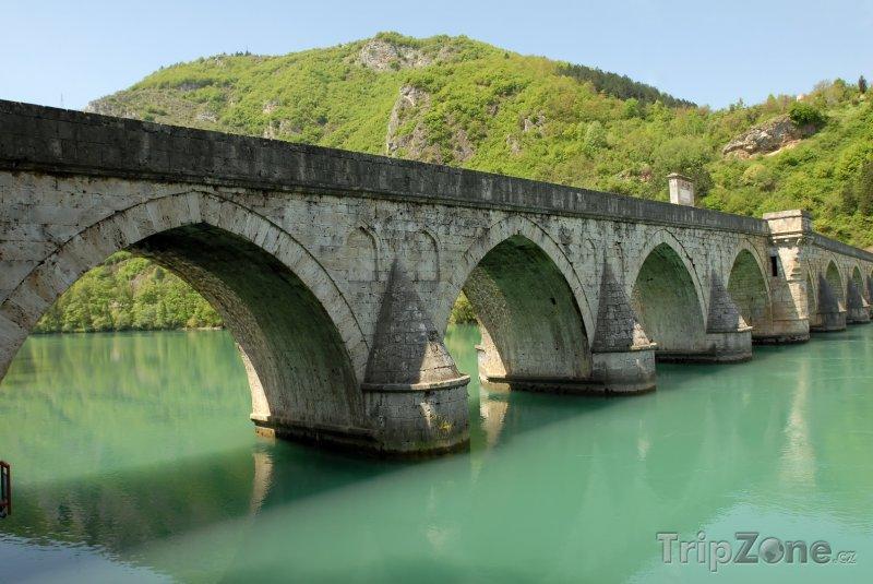Fotka, Foto Most v městečku Višegrad (Bosna a Hercegovina)
