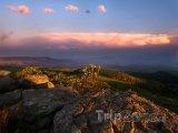 Mraky nad pohořím Drakensberg