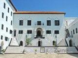 Nádvoří hradu Elmina
