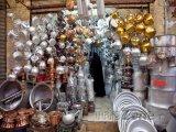 Obchod s hrncema v Širázu