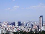 Obchodní část Mexiko City