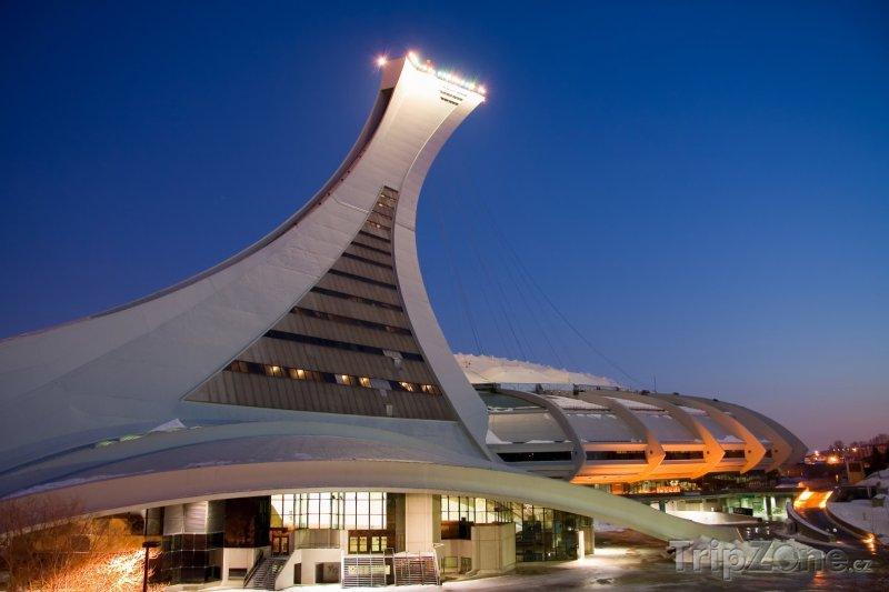 Fotka, Foto Olympijský stadion v Montrealu (Kanada)