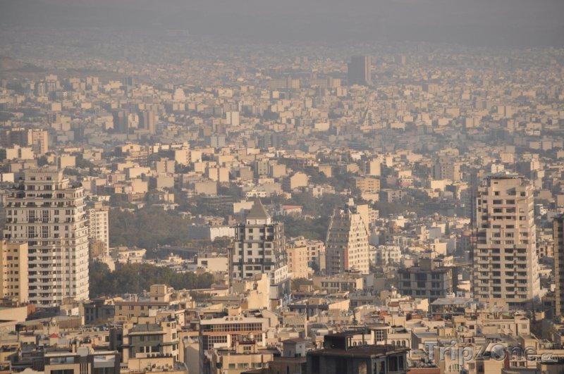 Fotka, Foto Panorama Teheránu (Írán)