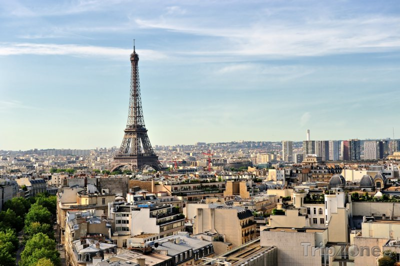 Fotka, Foto Paříž panorama (Francie)