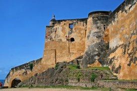 Pevnost Jesus na ostrově Mombasa