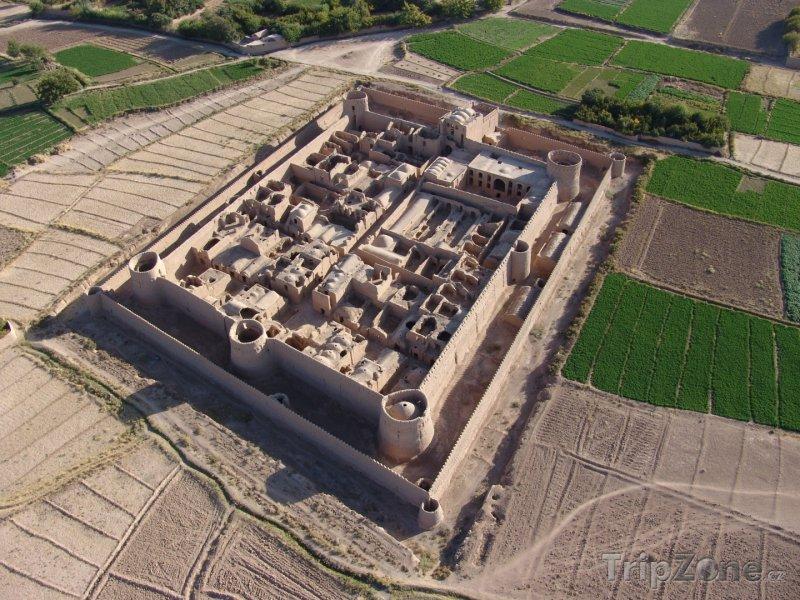 Fotka, Foto Pevnost Mehrpadin poblíž města Jazd (Írán)