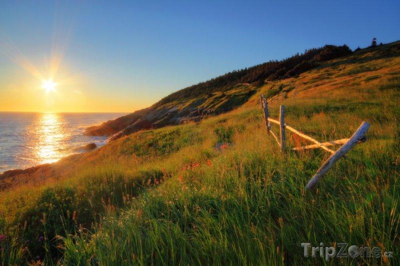 Fotka, Foto Pobřeží ostrova Newfoundland (Kanada)