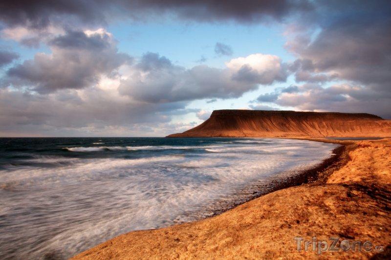 Fotka, Foto Pobřeží poloostrova Snæfellsnes (Island)