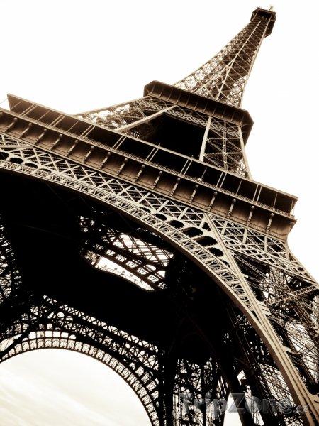 Fotka, Foto Pohled na Eiffelovu věž (Francie)