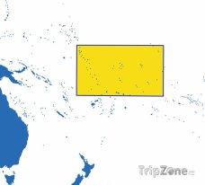 Poloha Kiribati na mapě