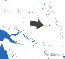 Poloha Nauru na mapě