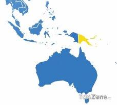 Poloha Papuy-Nové Guiney
