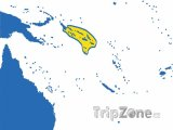 Poloha Šalamounových ostrovů na mapě