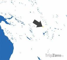 Poloha Tuvalu na mapě