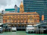 Přístav ve městě Auckland