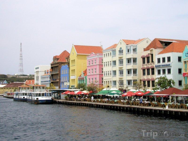 Fotka, Foto Přístav ve Willemstadu (Curacao)