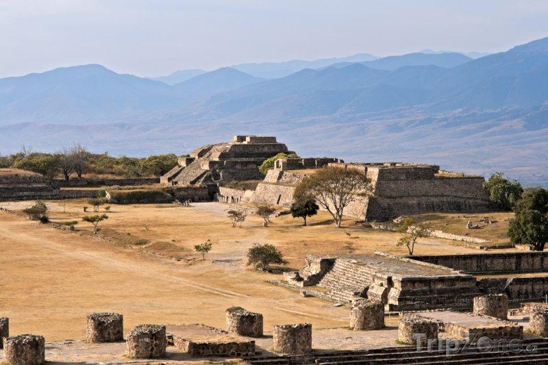 Fotka, Foto Ruiny města Monte Albán (Mexiko)