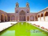 Růžová mešita v Širázu