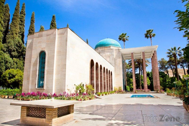 Fotka, Foto Sádího mauzoleum v Širázu (Írán)