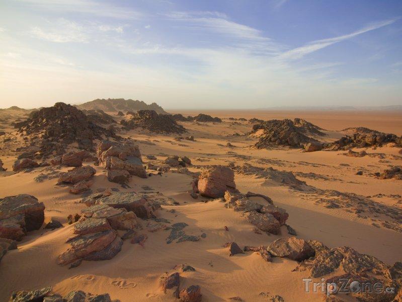 Fotka, Foto Skály v poušti (Alžírsko)