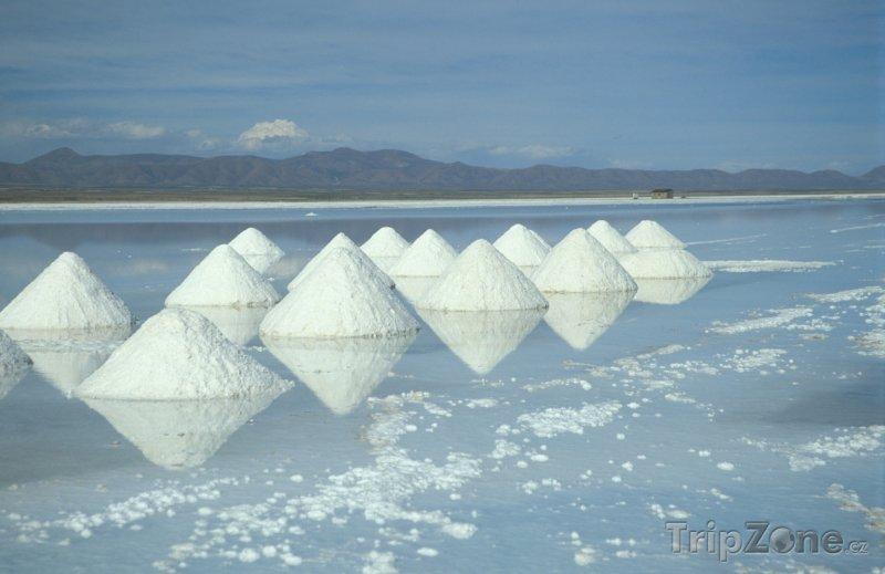 Fotka, Foto Solné jezero Salar de Uyuni (Bolívie)