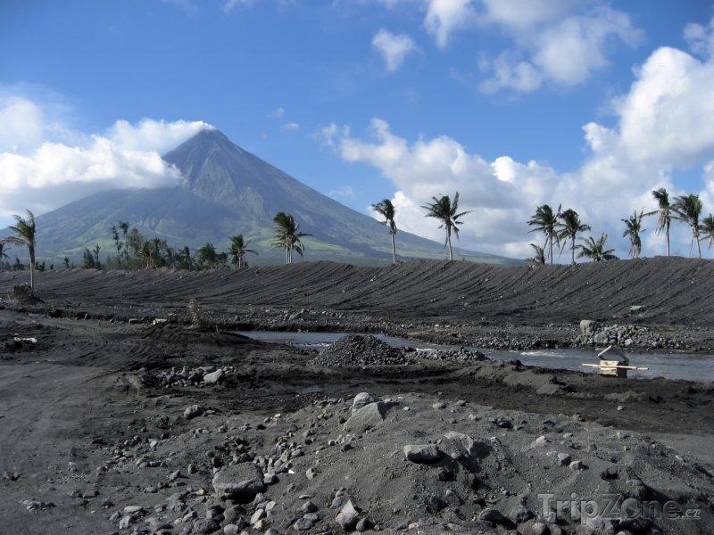 Fotka, Foto Sopka Mayon (Filipíny)