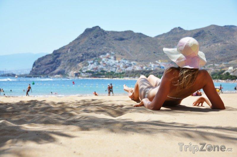 Fotka, Foto Tenerife, Playa de la Teresitas (Španělsko)