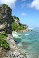 Útesy na Bali