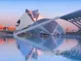 Valencie, muzeum v Městě umění a věd