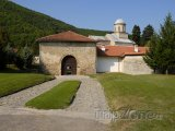 Vchod do kláštera Visoki Dečani