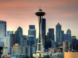 Věž Space Needle v Seattlu