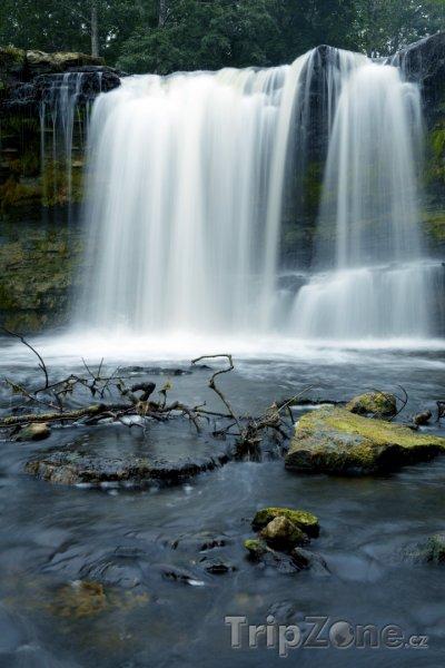 Fotka, Foto Vodopád Keila (Estonsko)
