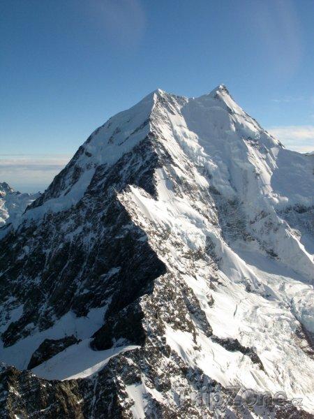 Fotka, Foto Vrchol jižních Alp (Nový Zéland)