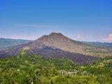 Vulkán Mount Batur na Bali