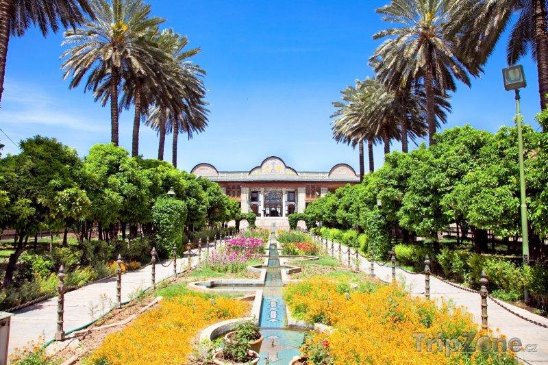 Fotka, Foto Zahrada Eram v Širázu (Írán)
