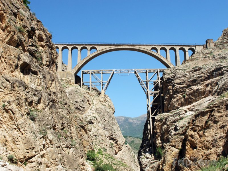 Fotka, Foto Železniční most Veresk (Írán)