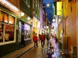Amsterdam, proslulá ulice v Red Light District