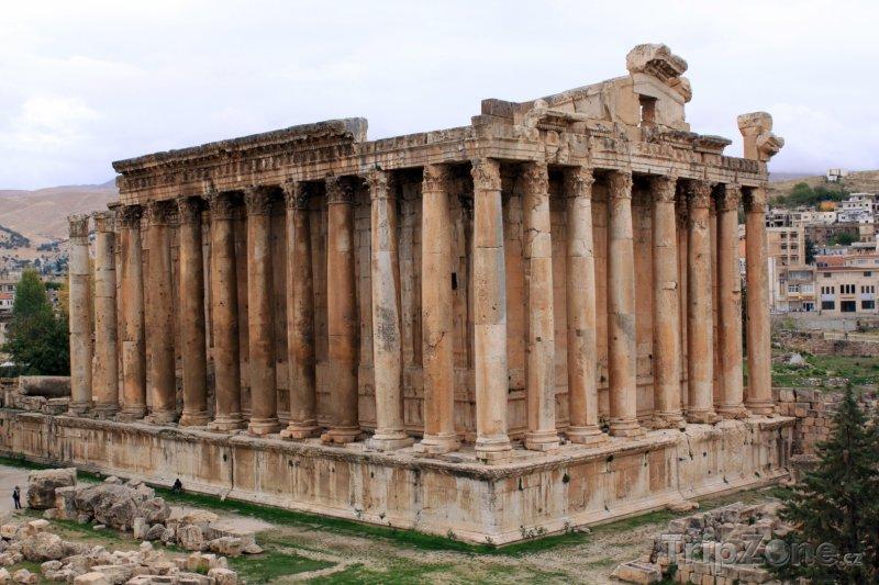 Fotka, Foto Baalbek, Bakchův chrám (Libanon)