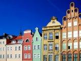 Barevné domy v Gdaňsku